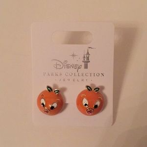 Disney Parks Collection Orange Bird Earrings